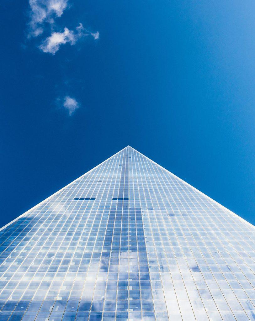 Business Skyscraper Blue Sky